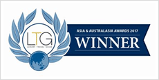 ASIA & AUSTRALASIA AWARDS 2017 WINNER
